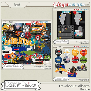 Travelogue Alberta Canada - Bundle Pack by Connie Prince