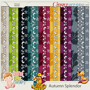 Autumn Splendor Pattern Papers