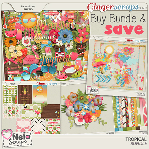 Tropical - Bundle - By Neia Scraps