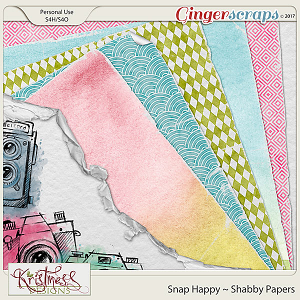 Snap Happy Shabby Papers