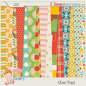 Zoo Trip Papers Pack