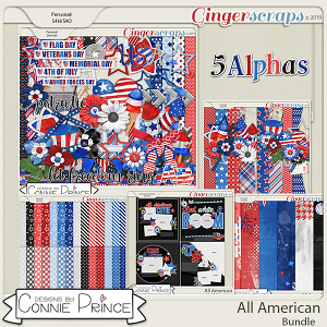 All American - Bundle by Connie Prince
