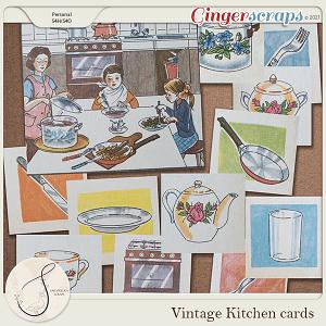 Vintage Kitchen Cards