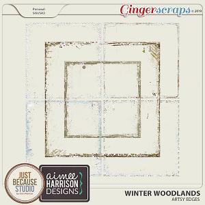 Winter Woodlands Edges by JB Studio & Aimee Harrison Designs