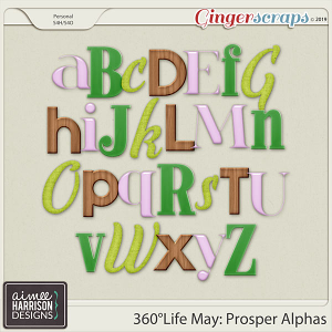 360°Life May: Prosper Alpha Sets by Aimee Harrison