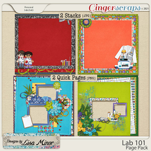 Lab 101 Page Pack from Designs by Lisa Minor