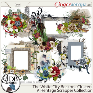 The White City Beckons Clusters by ADB Designs