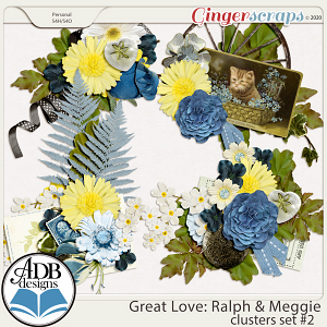 Great Love: Ralph & Meggie Clusters Set 02 by ADB Designs