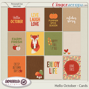 Hello October - Cards