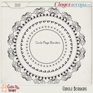Circle Page Borders 01
