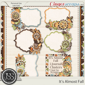 It's Almost Fall Journal Cluster Cards