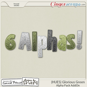 {HUES} Glorious Green - Alpha Pack AddOn