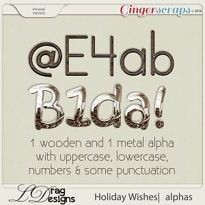 Holiday Wishes: Alphas by LDragDesigns