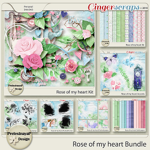 Rose of my heart Bundle