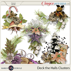 Deck the Halls Clusters by Karen Schulz