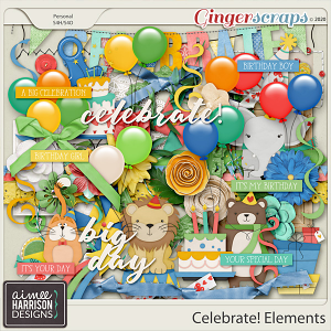 Celebrate Elements Pack by Aimee Harrison