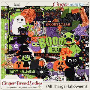GingerBread Ladies Collab: All Things Halloween