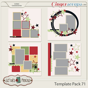 Template Pack 71 by Scraps N Pieces