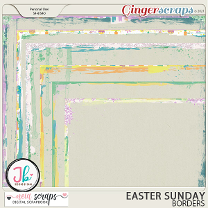 Easter Sunday - Borders - by Neia Scraps and JB Studio