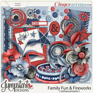Family Fun & Fireworks {Enhancements} by Jumpstart Designs