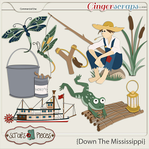 Down The Mississippi CU - Scraps N Pieces