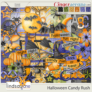 Halloween Candy Rush by Lindsay Jane