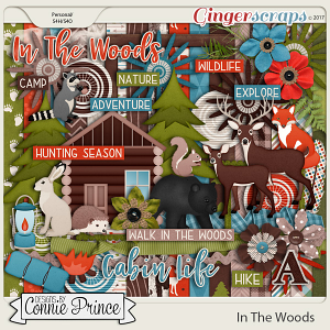 In The Woods - Kit by Connie Prince