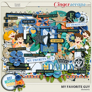 My Favorite Guy Elements by JB Studio