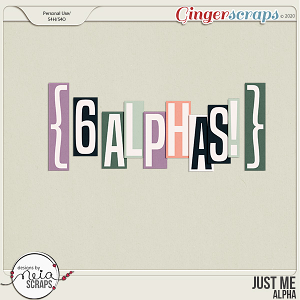 Just Me - Alpha - by Neia Scraps