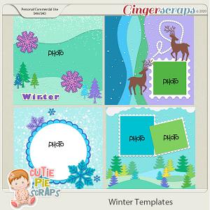Winter -Templates -02 -12x12 (CU Ok) by Cutie Pie Scraps
