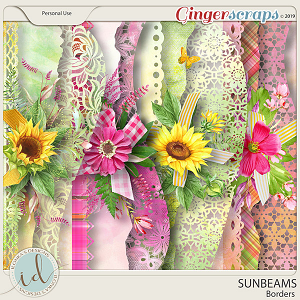 Sunbeams Borders by Ilonka's Designs