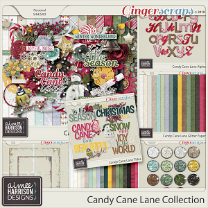 Candy Cane Lane Collection by Aimee Harrison