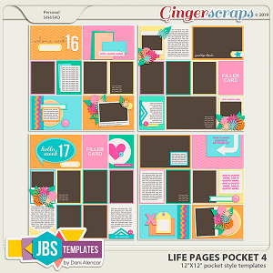 Life Pages Pocket 4 by JB Studio