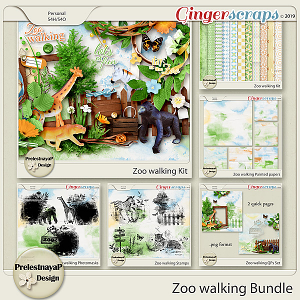 Zoo walking Bundle