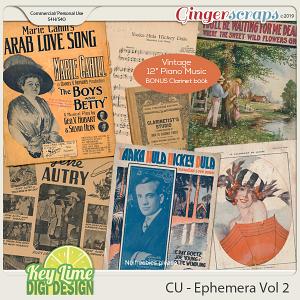 CU Ephemera Volume 2 by Key Lime Digi Design
