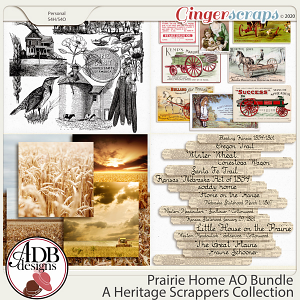 Prairie Home Add On Bundle by ADB Designs