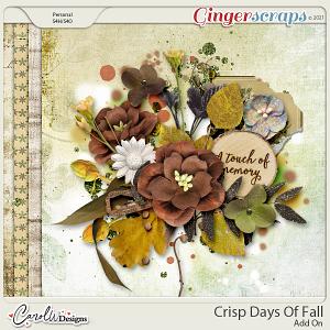 Crisp Days Of Fall-Add On