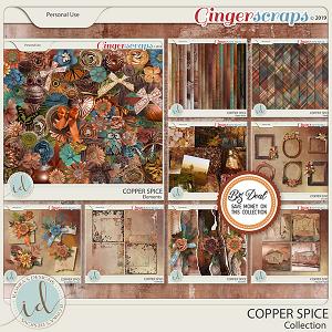 Copper Spice Collection by Ilonka's Designs