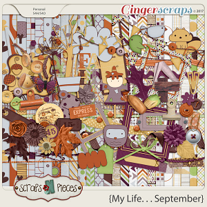 My Life - September Kit by Scraps N Pieces