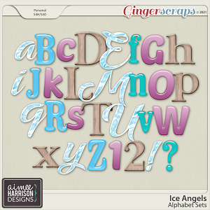 Ice Angels Alpha Sets by Aimee Harrison