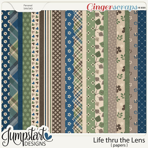 Life thru the Lens {Papers} by Jumpstart Designs