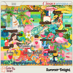 Summer Delight Page Kit