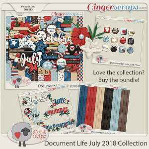 Document Life July 2018 Bundle by Luv Ewe Designs