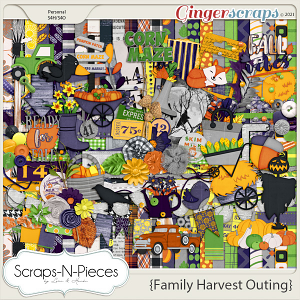 Family Harvest Outing Bundled Kit by Scraps N Pieces
