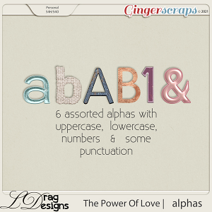 The Power Of Love: Alphas by LDragDesigns