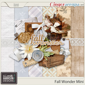 Fall Wonder Mini Kit by Aimee Harrison