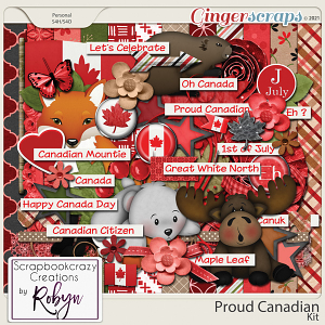 Proud Canadian Kit by Scrapbookcrazy Creations