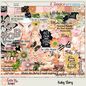 Baby Story Page Kit