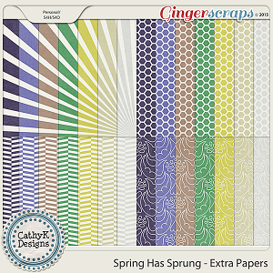 Spring Has Sprung - Extra Papers