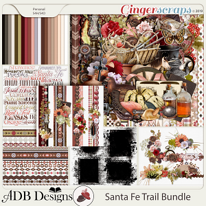 Santa Fe Trail Bundle by ADB Designs